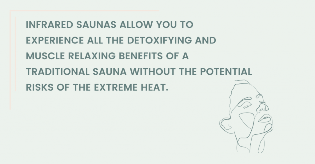 are infrared saunas safe infographic